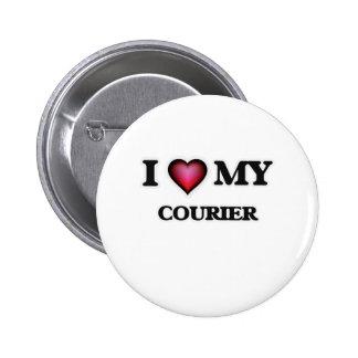 I love my Courier 2 Inch Round Button