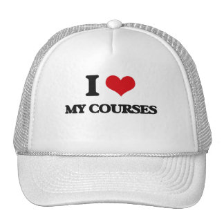 I love My Courses Trucker Hat