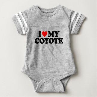 I LOVE MY COYOTE BABY BODYSUIT