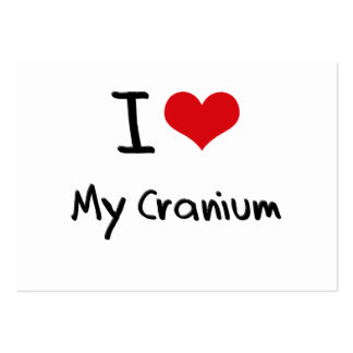 I love My Cranium Business Card Templates