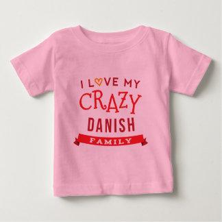 I Love My Crazy Danish Family Reunion T-Shirt Idea