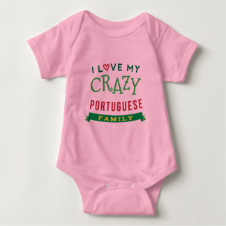 I Love My Crazy Portuguese Family Reunion T-Shirt