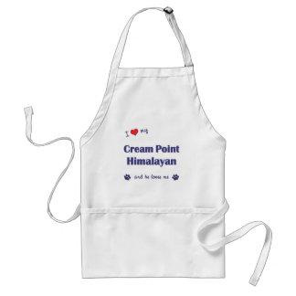 I Love My Cream Point Himalayan (Male Cat) Standard Apron