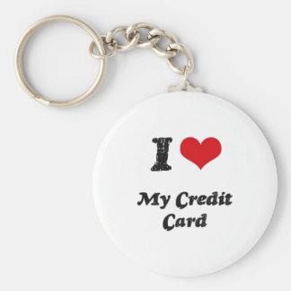 I love My Credit Card Keychain