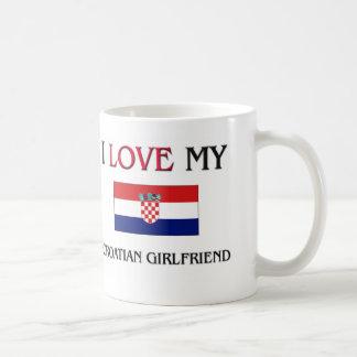 I Love My Croatian Girlfriend Coffee Mug