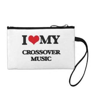 I Love My CROSSOVER MUSIC Change Purses