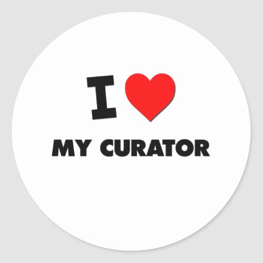 I love My Curator Stickers