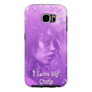 I Love My Curls Samsung Galaxy S6 Phone Case