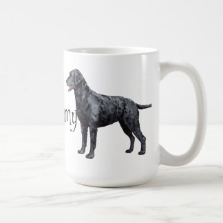 I Love my Curly-Coated Retriever Coffee Mug