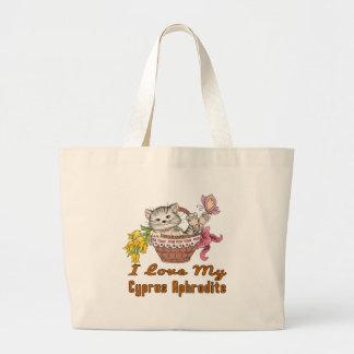 I Love My Cyprus Aphrodite Large Tote Bag