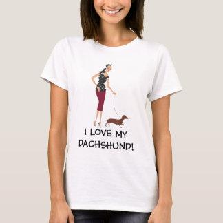 I LOVE MY DACHSHUND! T-Shirt