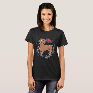 I Love My Dachsund Dog T-Shirt