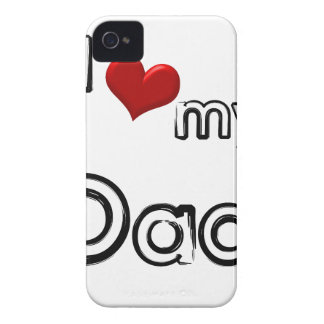 i love my dad Case-Mate iPhone 4 case
