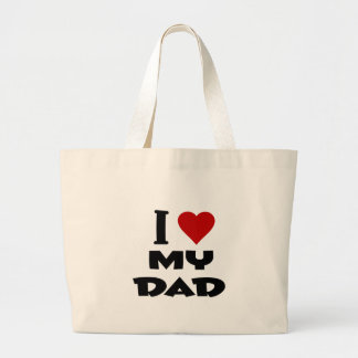 i love my dad png bag