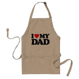 I LOVE MY DAD STANDARD APRON