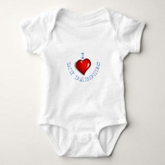 I love my Daddies Baby Bodysuit