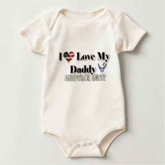 I Love My Daddy (Airforce Brat) Baby Bodysuit