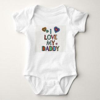 I Love My Daddy Baby Bodysuit