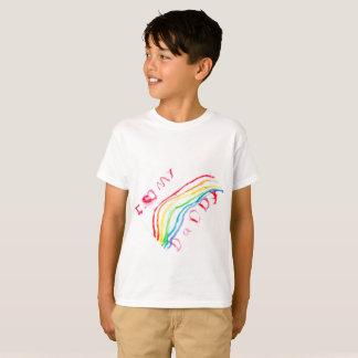"""I Love My Daddy"" Rainbow T-Shirt"