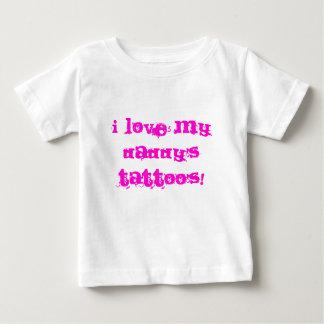 I LOVE MY DADDY'S TATTOO'S! Onsie Shirt