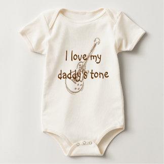 I love my daddy's tone baby bodysuit