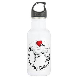 I Love My Dalmatian Dog 532 Ml Water Bottle