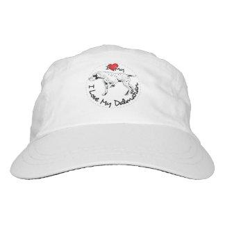 I Love My Dalmatian Dog Hat