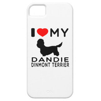 I Love My Dandie Dinmont Terrier. Case For The iPhone 5