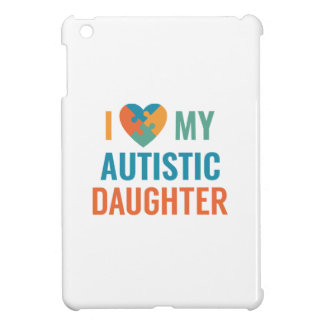 I Love My Daughter iPad Mini Cases