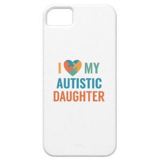 I Love My Daughter iPhone 5 Case