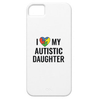 I Love My Daughter iPhone 5 Cases