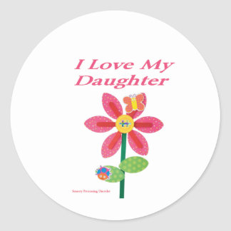 i love my daughter spd stickers