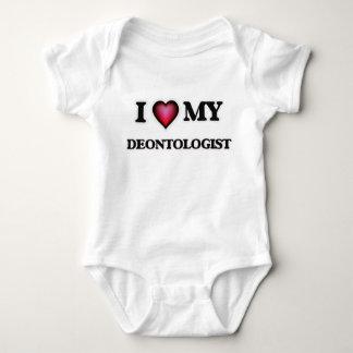I love my Deontologist Baby Bodysuit