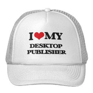 I love my Desktop Publisher Mesh Hats