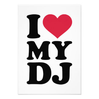 I love my DJ Custom Announcement