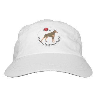 I Love My Doberman Pinscher Dog Hat