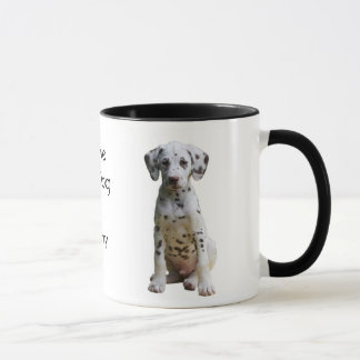 I Love my Dog Dalmatian Coffee Mug