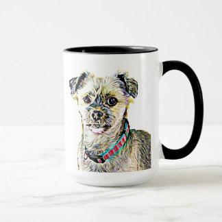 I Love my Dog Personalized Coffee Mug