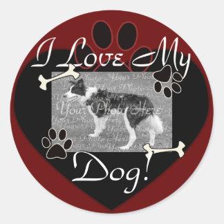 I love my Dog Stickers