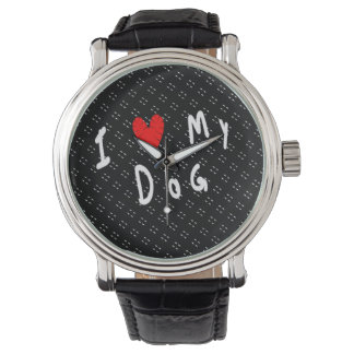 I Love My Dog Watch