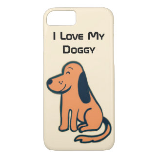 I Love My Doggy iPhone Case for dog lovers