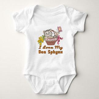 I Love My Don Sphynx Baby Bodysuit