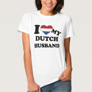 I love my Dutch Husband Tee-shirts