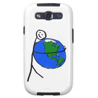 I love my earth children's drawing by healing love samsung galaxy SIII cover