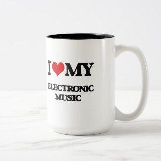 I Love My ELECTRONIC MUSIC Coffee Mug