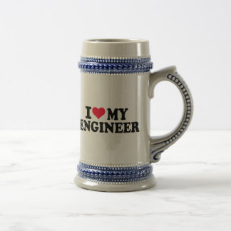 I love my Engineer Beer Stein