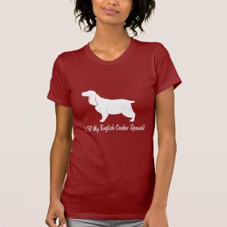 I Love My English Cocker Spaniel T-Shirt