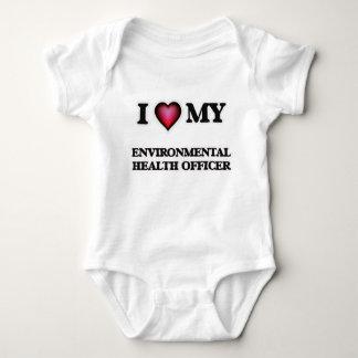 I love my Environmental Health Officer Baby Bodysuit