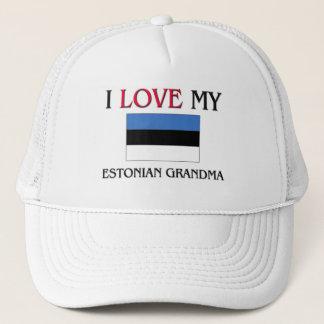 I Love My Estonian Grandma Trucker Hat