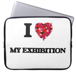 I love My Exhibition Computer Sleeve